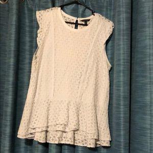 Cute Banana Republic XL Sleeveless Dress Shirt